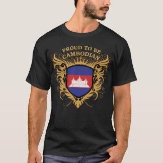 T-shirt Fier d'être cambodgien