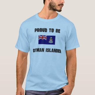 T-shirt Fier d'être INSULAIRE de CAÏMAN