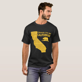 T-shirt Fier d'être la pièce en t DK des hommes