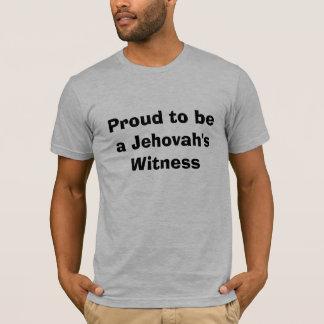 T-shirt Fier d'être le témoin de Jéhovah
