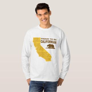 T-shirt Fier d'être LT de pièce en t de la Long-Douille