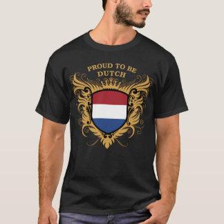 T-shirt Fier d'être néerlandais