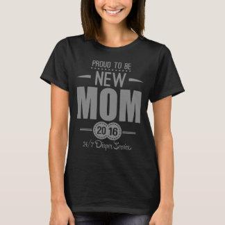 T-shirt Fier d'être nouvelle maman 2016