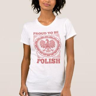 T-shirt Fier d'être polonais