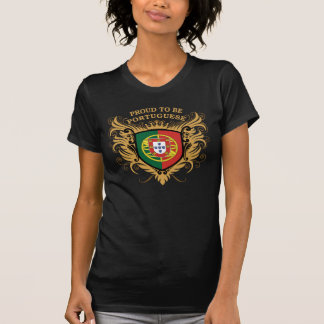 T-shirt Fier d'être portugais