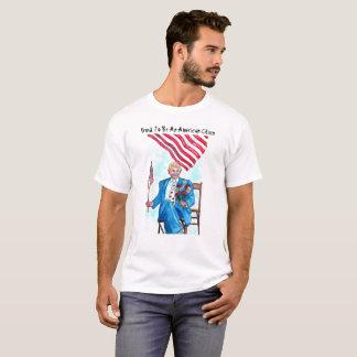 T-shirt Fier d'être un Américain - chemises