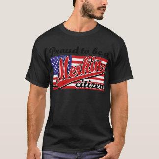T-shirt Fier d'être un citoyen de Merkin