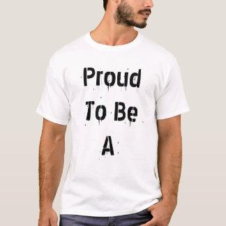 T-shirt Fier d'être un raton laveur