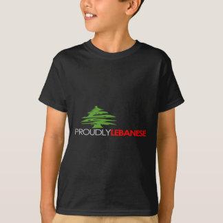T-shirt Fièrement libanais, libanais et fier - le Liban