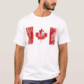 T-shirt Fierté de drapeau du Canada