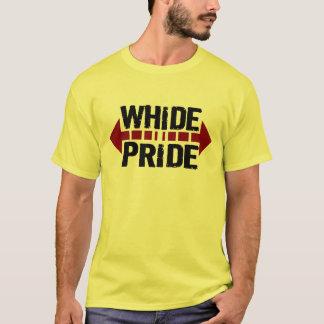 T-shirt Fierté de WhiDe - fierté large pour Fatties potelé