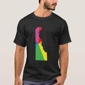 T-shirt fierté du Delaware. à angles