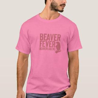 T-shirt Fièvre rose de castor