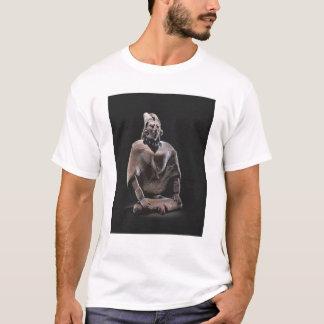 T-shirt Figure de roi assis maya, d'ofJaina d'île