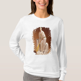 T-shirt Figure du Staffordshire d'un joueur de cricket,