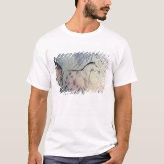 T-shirt Figure d'une jument enceinte avec la ligne