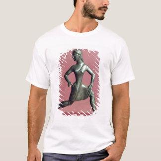 T-shirt Figurine d'un fonctionnement de fille,