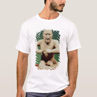 T-shirt Figurine d'un lutteur