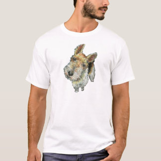 T-shirt Fil-d'une chevelure-renard-Terrier