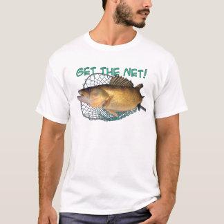 T-shirt Filet de pêche de brochets vairons
