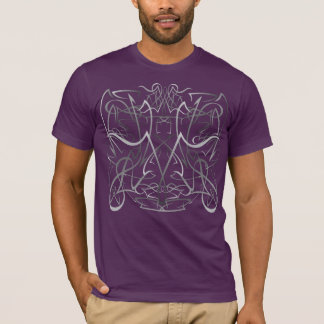 T-shirt Filet tribal