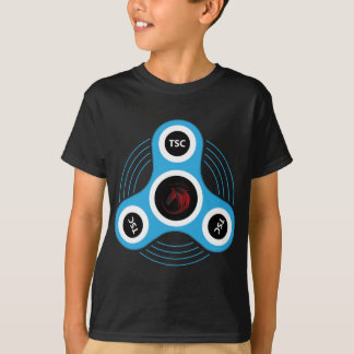 T-shirt Fileur de personne remuante de centre technique
