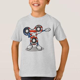 T-shirt Fileur tamponnant original de main - limande de