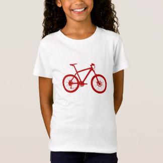 T-Shirt Fille American Apparel tee-shirt, bicyclette, Bike