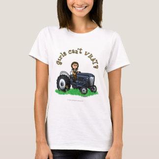 T-shirt Fille bleu-clair d'agriculteur