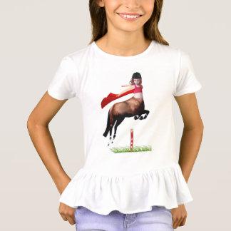 T-shirt Fille de cheval