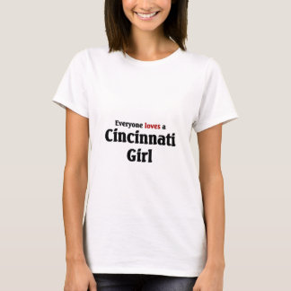 T-shirt Fille de Cincinnati
