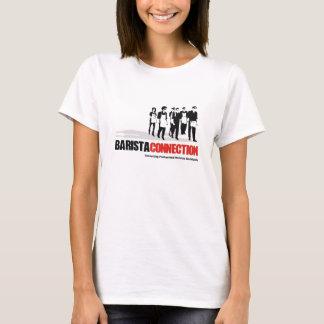T-shirt Fille de connexion de barman