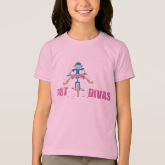 T-shirt Fille de cycliste