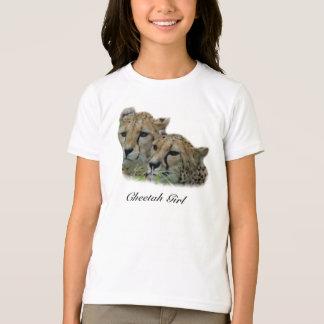 T-shirt Fille de guépard