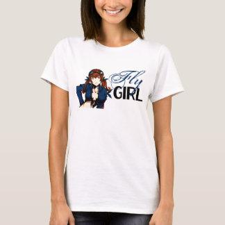 T-shirt Fille de mouche d'Anime