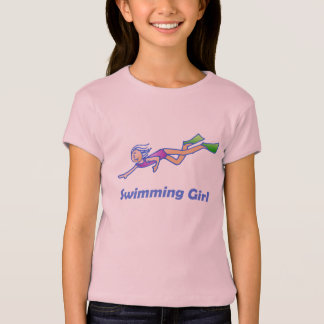 T-shirt Fille de natation