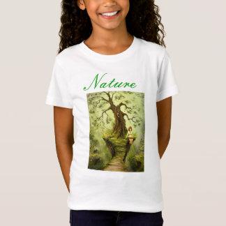 T-Shirt Fille de nature