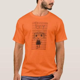 T-shirt Fille de poney