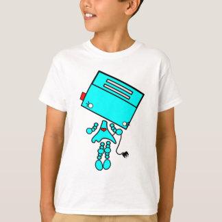 T-shirt fille de robot