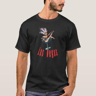 T-shirt Fille de scène vintage de casino de Las Vegas