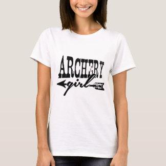 T-shirt Fille de tir à l'arc