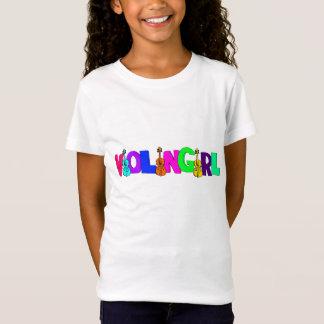 T-Shirt Fille de violon