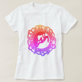 T-shirt Fille de zen d'escalade de roche