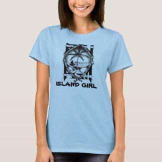 T-shirt Fille d'île de la Guam