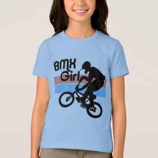 T-shirt Fille du garçon de BMX/BMX