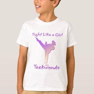 T-shirt Fille du Taekwondo