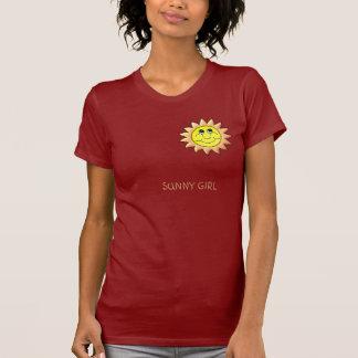 T-shirt FILLE ENSOLEILLÉE - customisée