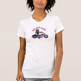 T-shirt Fille foncée de cycliste