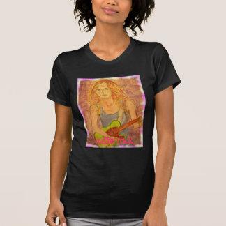 T-shirt fille indépendante de roche