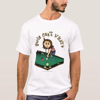 T-shirt Fille légère de billards